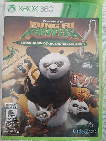 Imagen kung fu panda Xbox360