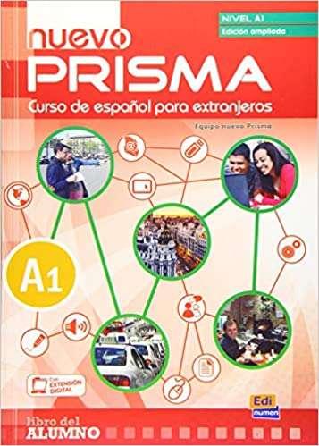 Imagen libro PRISMA nivel A1, curso de español