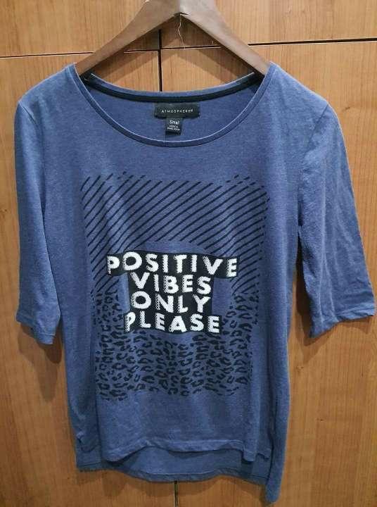 Imagen Camiseta azul de Primark