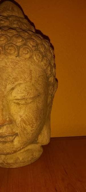 Imagen Cabeza Buda Zen 28cm