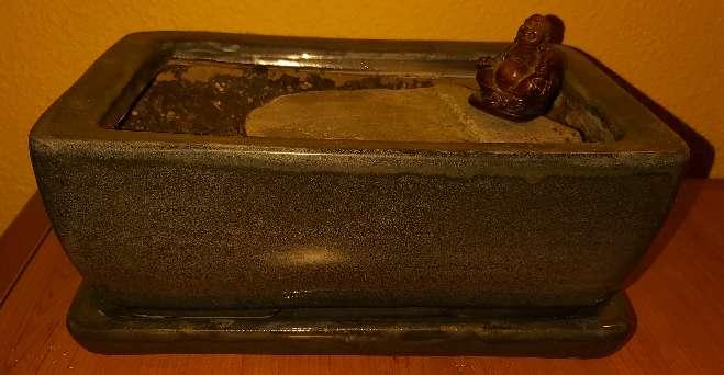 Imagen Maceta Bonsai con Plato