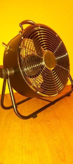 Imagen producto Ventilador Suelo Negro Estilo Industrial 25W 8
