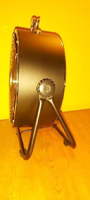 Imagen producto Ventilador Suelo Negro Estilo Industrial 25W 6