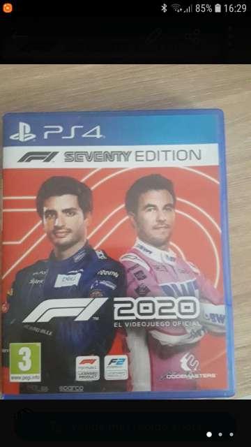 Imagen Formula 1 2020 ps4