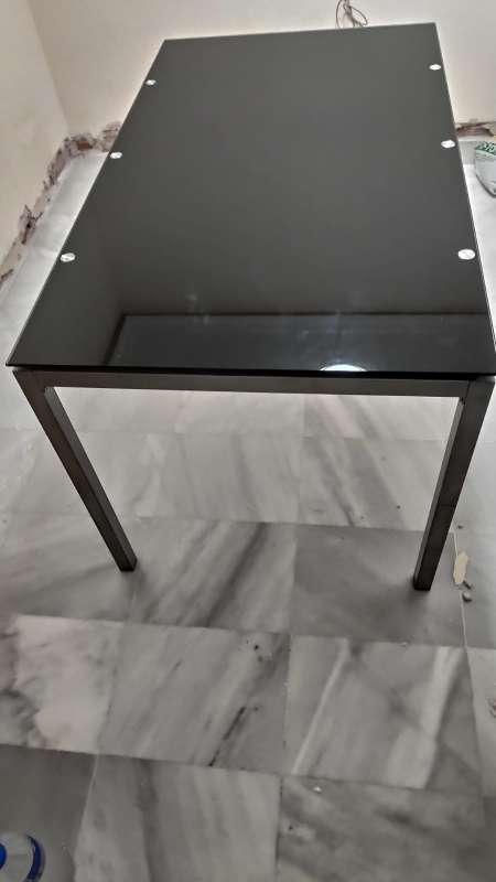 Imagen Mesa de escritorio y aluminio