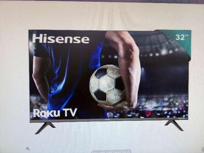 Imagen pantalla led Hisense32