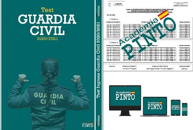 Imagen Test Guardia Civil 2021 (+10.000 Preguntas Test)