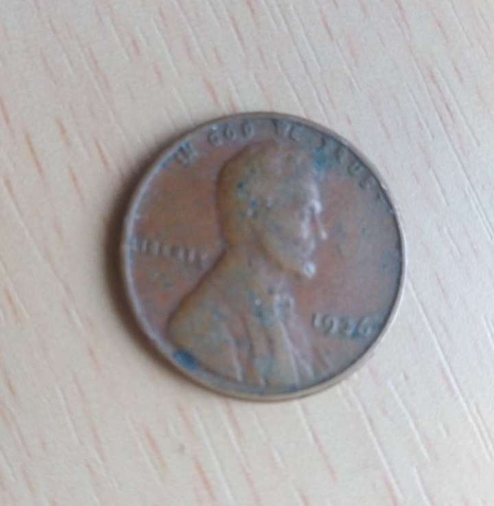 Imagen Moneda one cent Lincoln de Estados Unidos 1936.