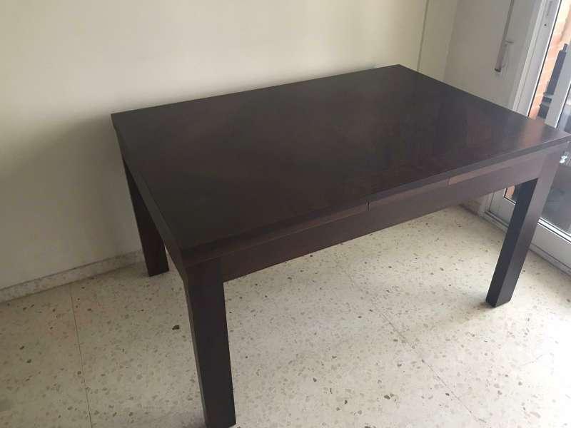 Imagen mesa de comedor rectangular