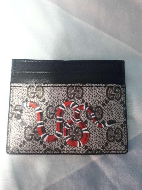 Imagen Tarjetero,billetera serpiente Gucci
