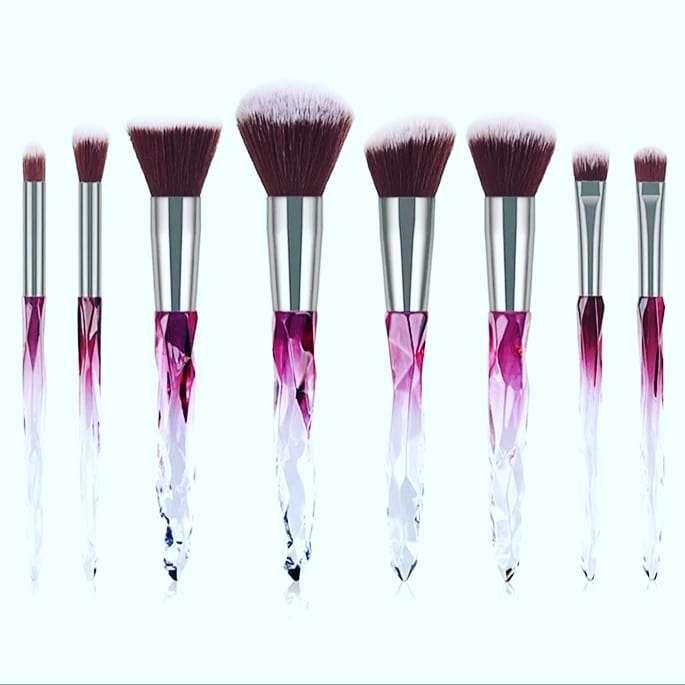 Imagen set de brochas de maquillaje