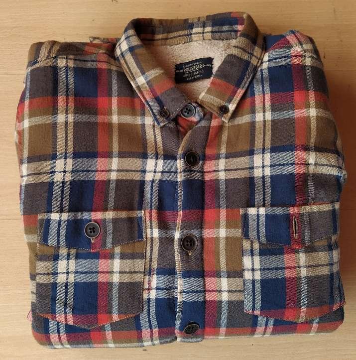 Imagen Sobrecamisa moda hombre marca Pull &  Bear