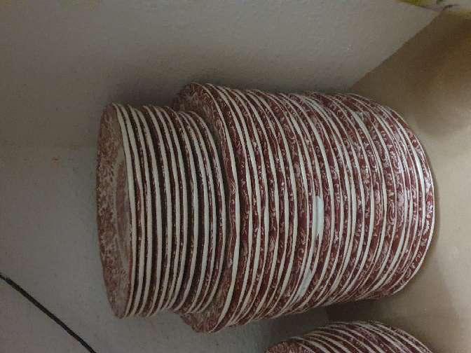 Imagen producto Vajilla rosa cartuja 3