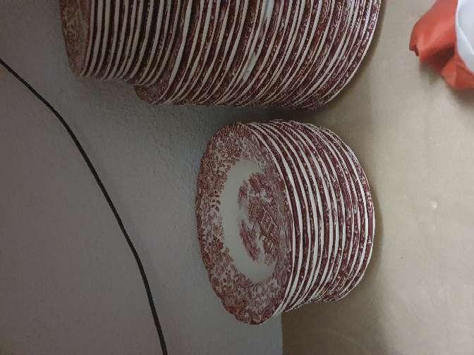 Imagen producto Vajilla rosa cartuja 2