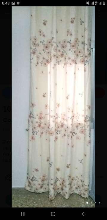 Imagen cortinas en perfecto estado