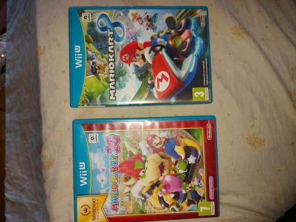 Imagen Juegos Wii U Mario kart 8 y Mario party 10