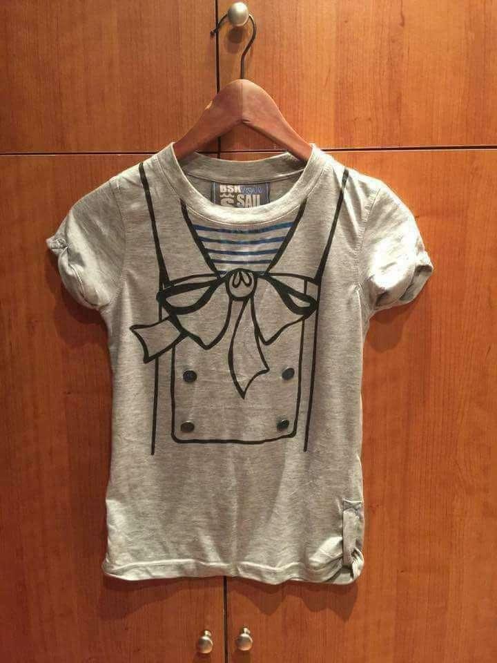 Imagen Camiseta gris chica