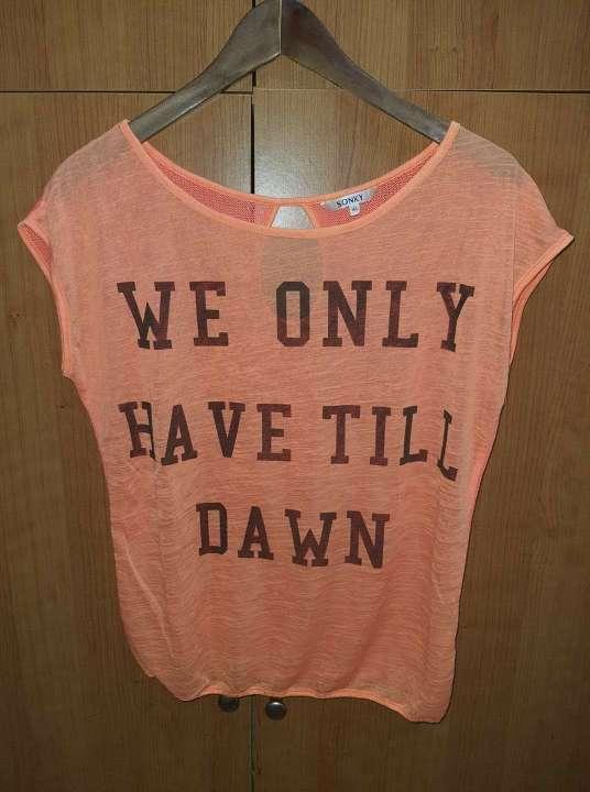 Imagen Camiseta naranja