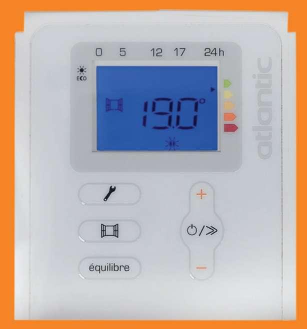 Imagen producto Radiador eléctrico bajo consumo 1250 W 3