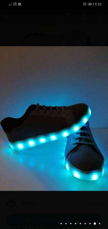 Imagen zapatos led
