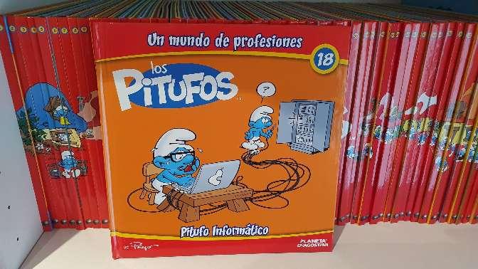Imagen colección de los pitufitos