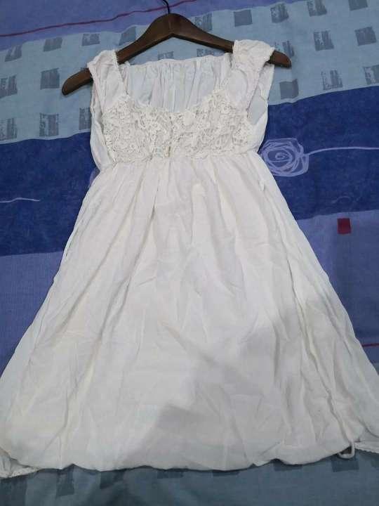 Imagen Vestido blanco para S/M