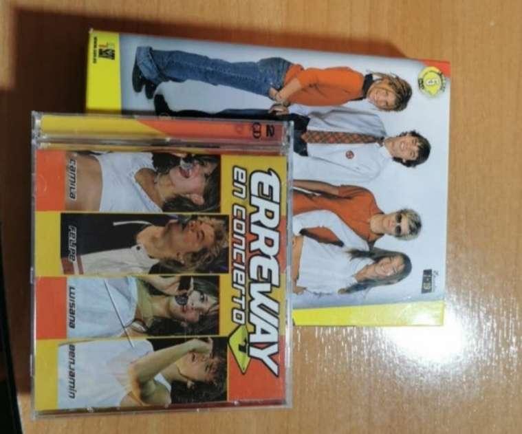 Imagen Erreway en concierto CD+DVD + DVD 1 temporada