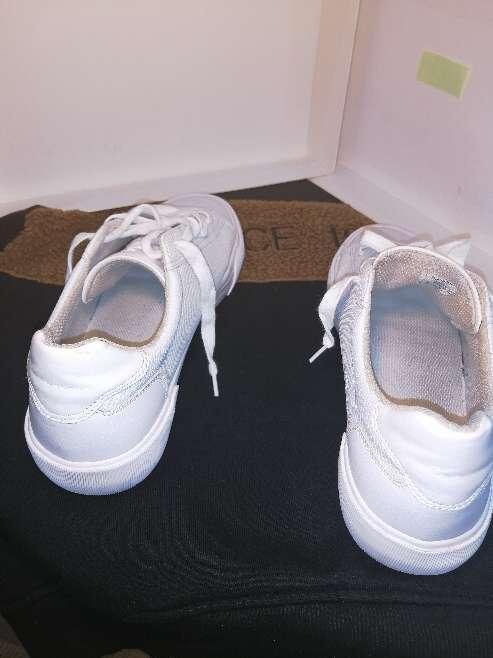 Imagen producto Zapatillas blancas Bershka  4