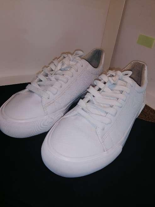 Imagen producto Zapatillas blancas Bershka  7