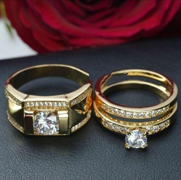 Imagen anillos para parejas