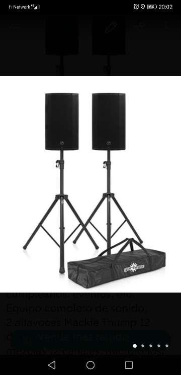 Imagen Alquilo equipo de sonido, altavoces, microfonos, mesa de mezclas, etc.