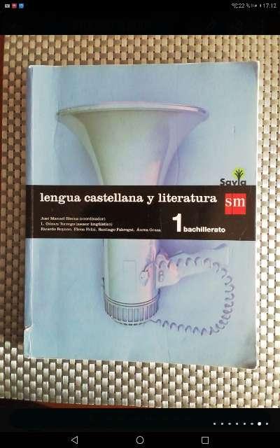 Imagen Lengua castellana y literatura 1 de Bachillerato