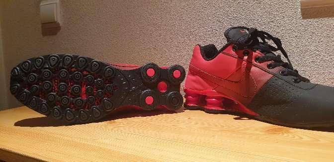 Imagen producto Zapatillas nike rojas y negras 5