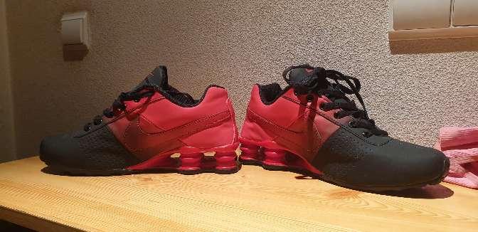 Imagen producto Zapatillas nike rojas y negras 4