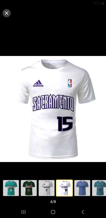 Imagen camisetas basket