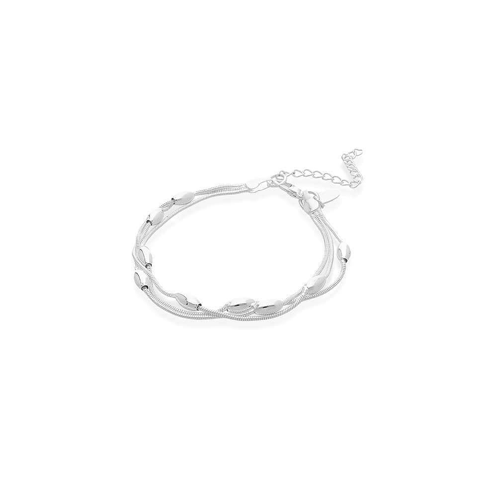 Imagen pulsera chapada en plata