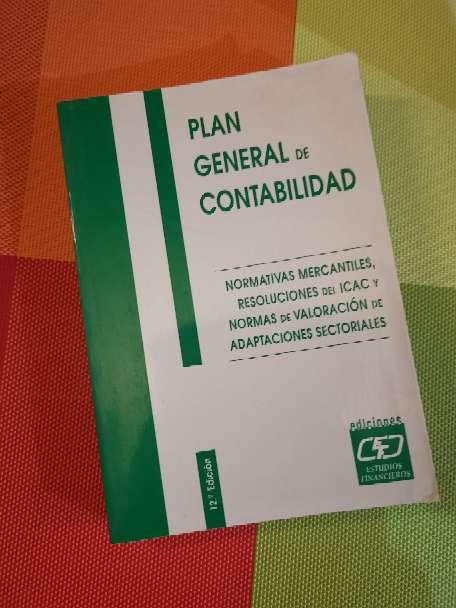 Imagen Plan general de la contabilidad