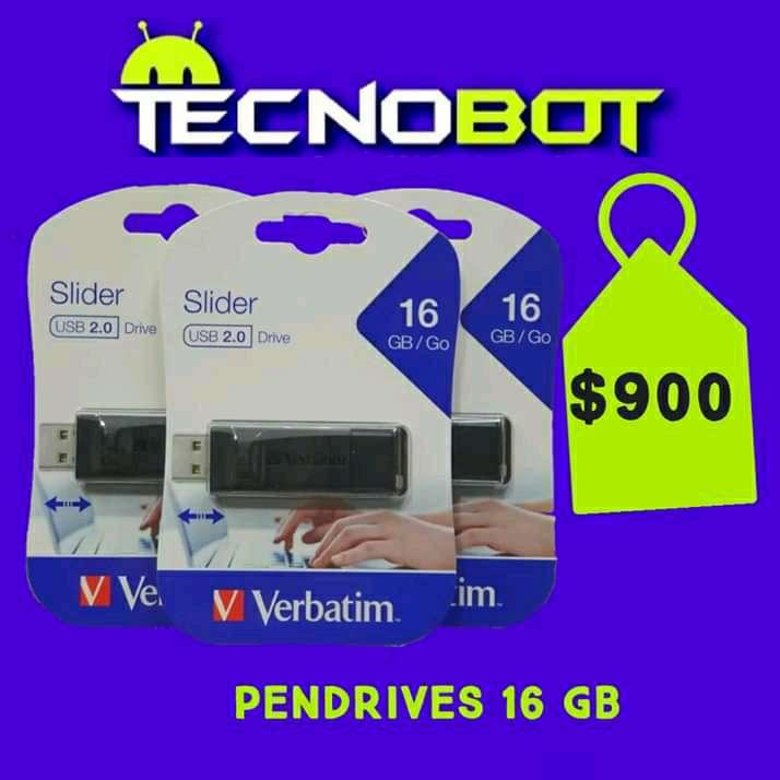 Imagen Pendrive 16 gb verbatim