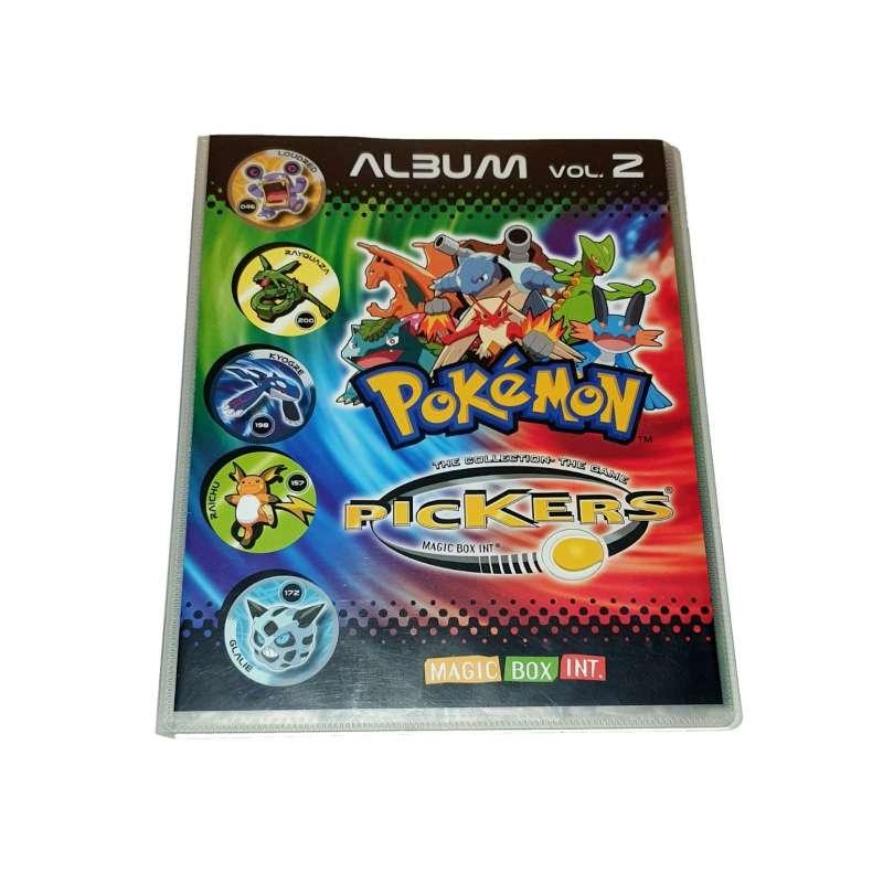 Imagen Álbum Pokémon Pickers De La Colección 2005