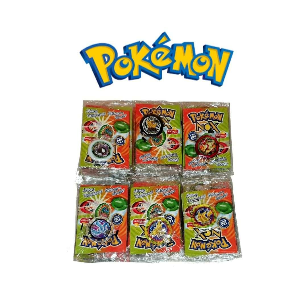 Imagen Tazos Nox Pokémon Nuevos 2005