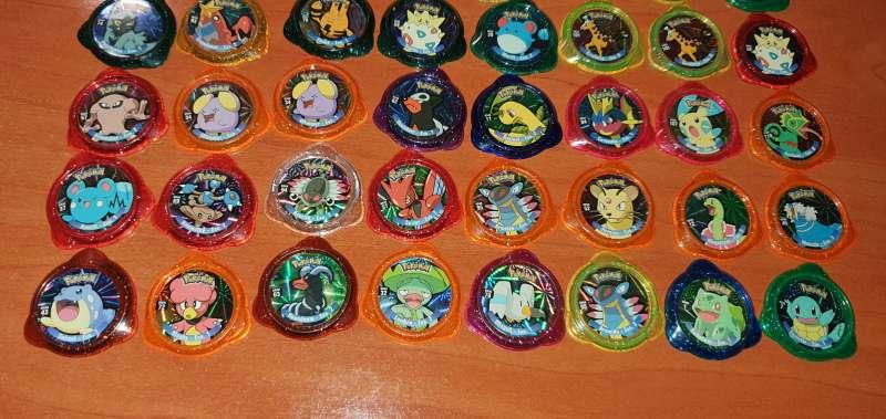 Imagen producto 50 Tazos Pokémon Kraks De Panini 3