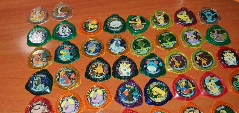Imagen producto 50 Tazos Pokémon Kraks De Panini 2