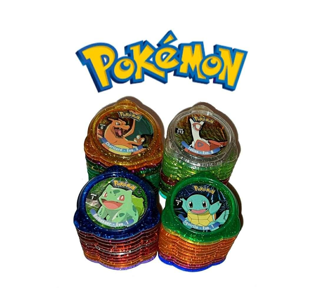 Imagen producto 50 Tazos Pokémon Kraks De Panini 1