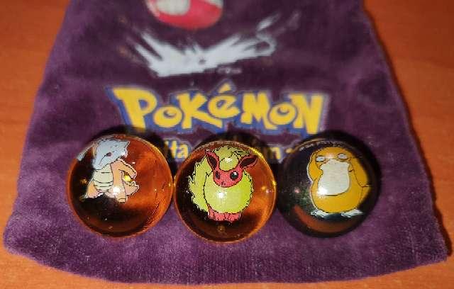Imagen producto Lote De Canicas Pokémon 1990 3