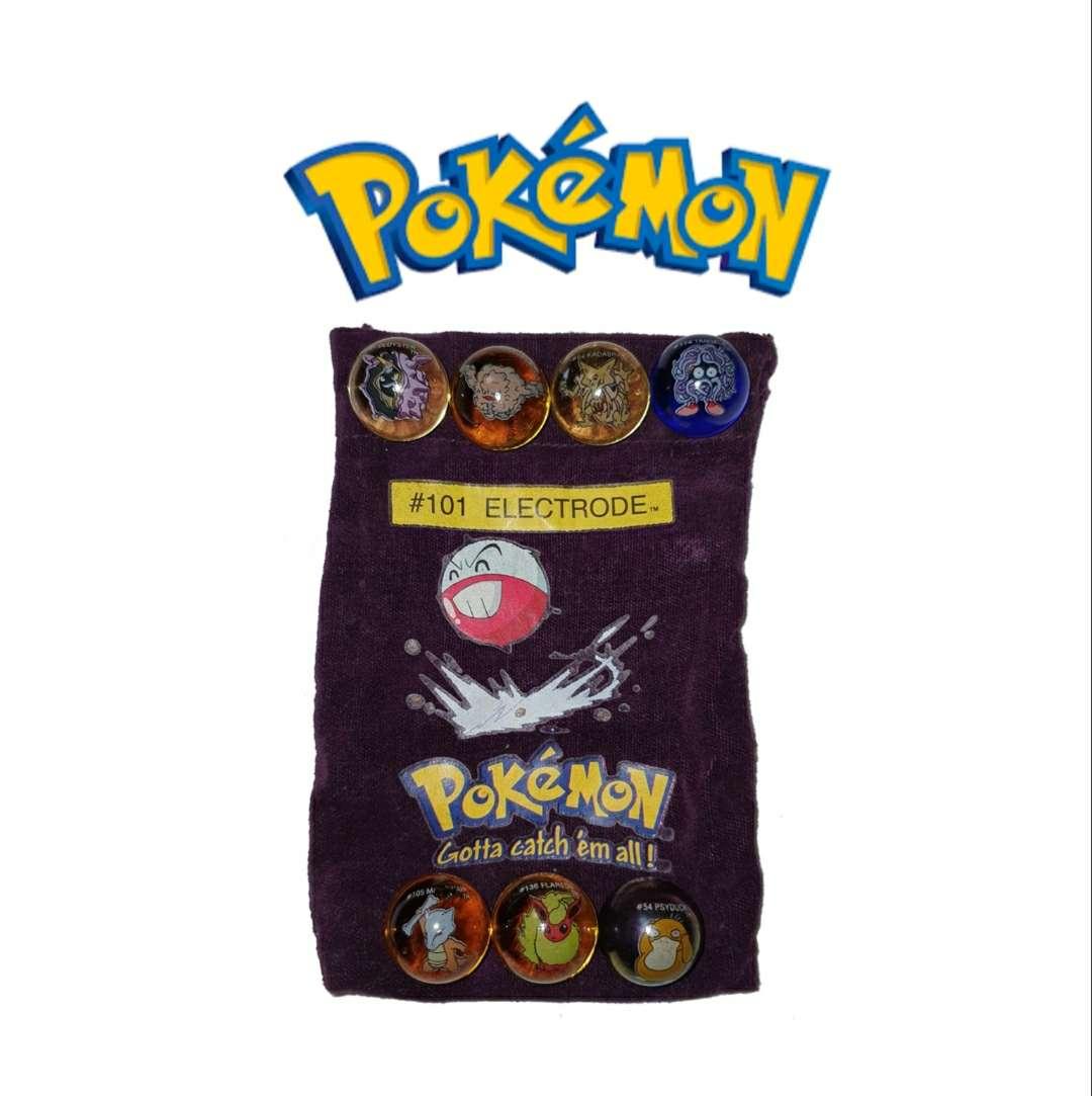 Imagen producto Lote De Canicas Pokémon 1990 1