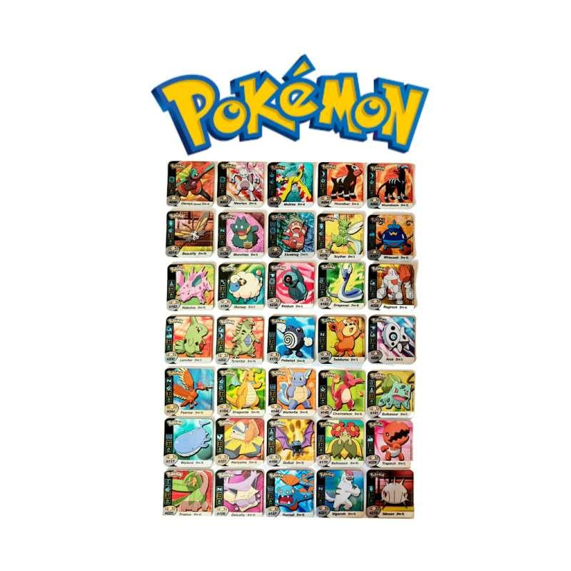 Imagen Stak O Imán De Pokémon Grandes 5 x 5cm (2006)