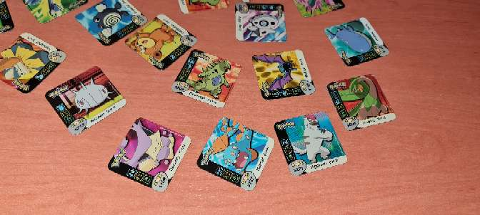 Imagen producto Stak O Imán De Pokémon Grandes 5 x 5cm (2006) 3