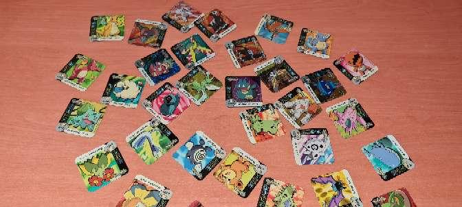 Imagen producto Stak O Imán De Pokémon Grandes 5 x 5cm (2006) 2