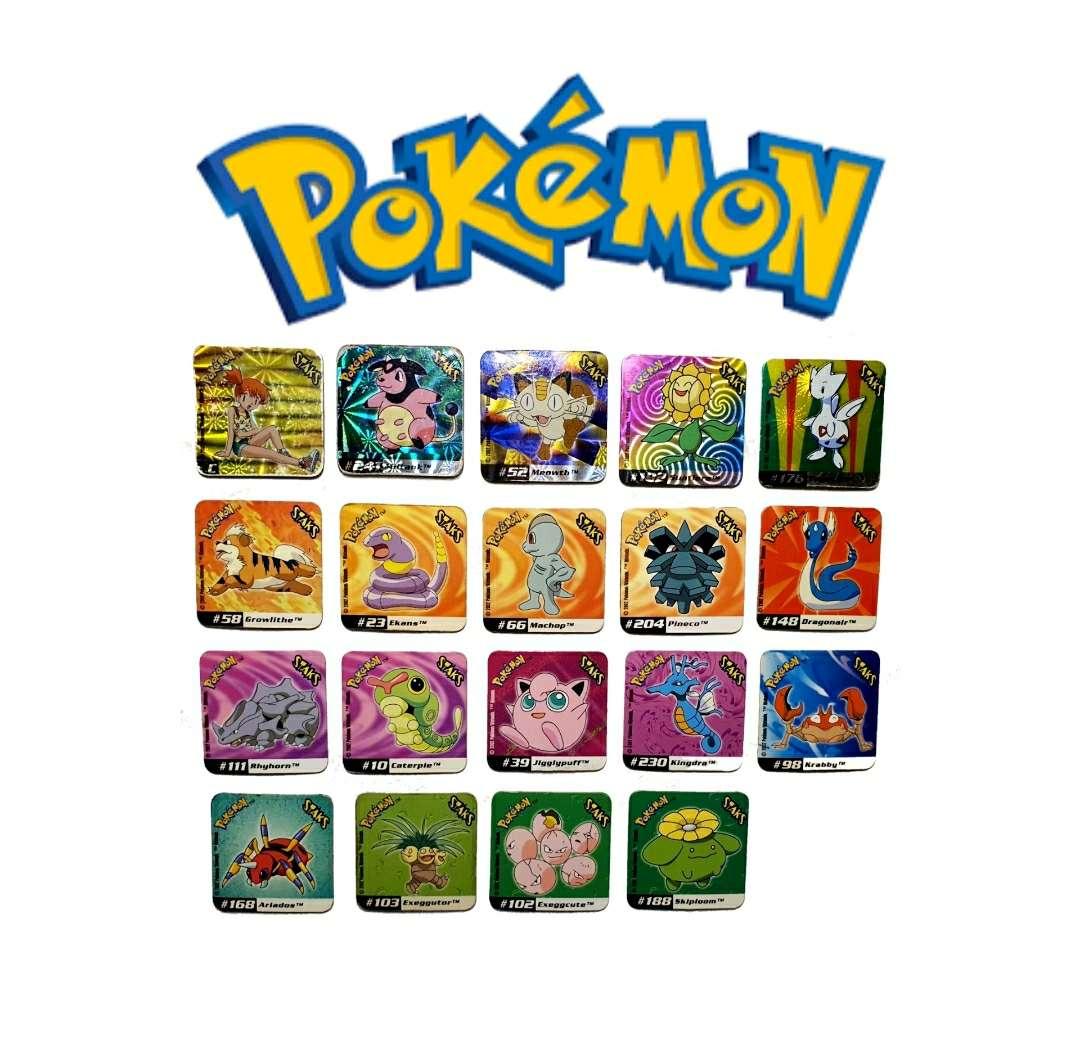Imagen producto Stak O Imán De Pokémon 4 x 4cm (2002) 1