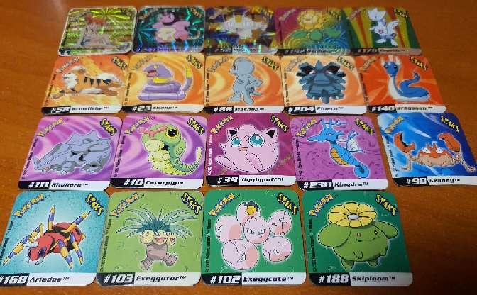 Imagen producto Stak O Imán De Pokémon 4 x 4cm (2002) 4